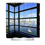 Tampa Bay Florida Shower Curtain