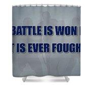 Tampa Bay Lightning Battle Shower Curtain