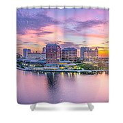 Tampa Bay Panorama  Shower Curtain