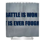 Tampa Bay Rays Battle Shower Curtain