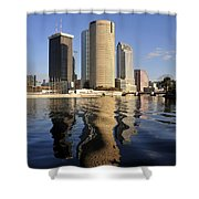 Tampa Florida 2010 Shower Curtain