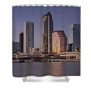 Tampa Florida  Shower Curtain