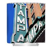 Tampa Tampa Shower Curtain