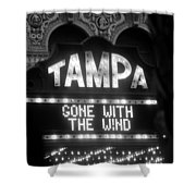 Tampa Theatre Gone With The Wind Shower Curtain
