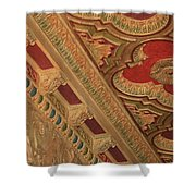 Tampa Theatre Ornate Ceiling Shower Curtain