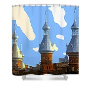 Tampa's Minarets Shower Curtain