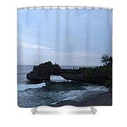 Tanah Lot Shower Curtain