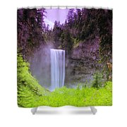 Tananamawas Falls  Shower Curtain