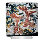 Tandem Dance 1 Shower Curtain