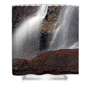 Tangle Falls Closeup 9 Shower Curtain