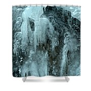 Tangle Falls Frozen Cascade Shower Curtain