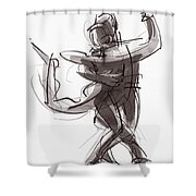 Tango #25 Shower Curtain