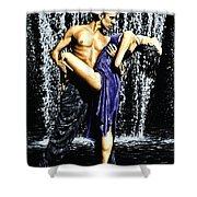 Tango Cascade Shower Curtain