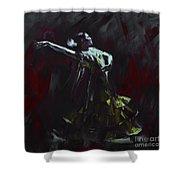 Tango Dancer 03 Shower Curtain
