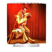 Tango Drama Shower Curtain