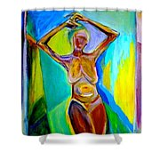 Tango For One Shower Curtain
