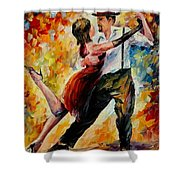 Tango In Red Shower Curtain