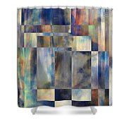 Tango In The Sky Shower Curtain
