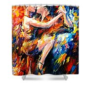Tango Of Love   Shower Curtain