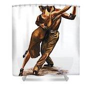 Tango Passion Shower Curtain