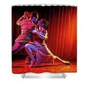 Tango Split Shower Curtain