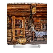 Tanning Room - Fort Ross California Shower Curtain