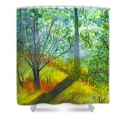 Tannis Woods Shower Curtain