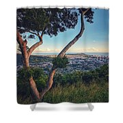 Tantalus Views Shower Curtain
