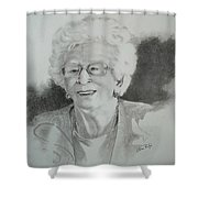Tante Irene Shower Curtain