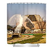 Tanzi Ling Park Shower Curtain