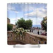 Taormina Square Shower Curtain