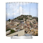 Taormina View II Shower Curtain