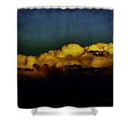 Taos Clouds Shower Curtain