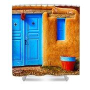 Taos Doorway Shower Curtain