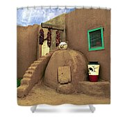Taos Oven Shower Curtain