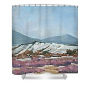 Taos Red Willows Shower Curtain