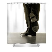 Tap Foot Shower Curtain