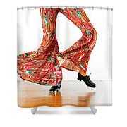 Tap Movement Shower Curtain