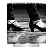 Tap Shoes Shower Curtain
