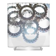 Tapered Stack Shower Curtain