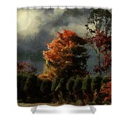 Tapestry Of Clouds Shower Curtain