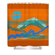 Taps Shower Curtain