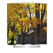 Tar Paper Shack Shower Curtain