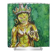 Tara Compassion Shower Curtain