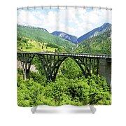 Tara River, Montenegro Shower Curtain