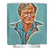 Tarantino Portrait Shower Curtain