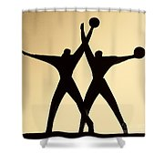 Sailors Monument Intaranto Shower Curtain