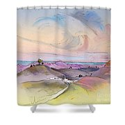 Tarbena 07 Shower Curtain