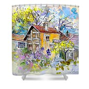 Tarbes 03 Shower Curtain