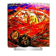 Targa Shower Curtain